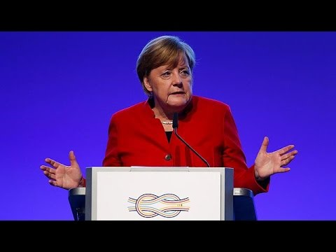 Γερμανία: Κατά του προστατευτισμού στην οικονομία η Άνγκελα Μέρκελ