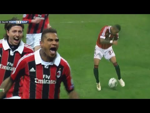 Kevin-Prince Boateng - Two Performances That Shocked Barcelona