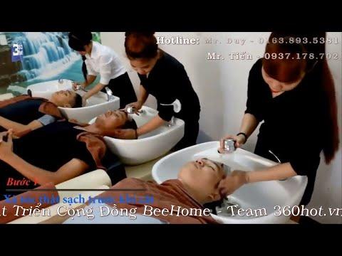 Clip hỗ trợ quảng cáo cho Viện tóc Biroen - Team 360hot
