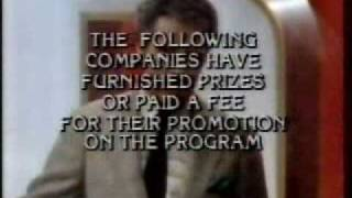 Video Price is Right & Jeopardy CLose November 28, 1985 MP3, 3GP, MP4, WEBM, AVI, FLV Mei 2018