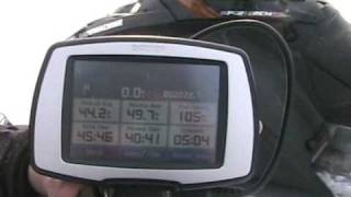 8. Polaris 800 X Beats Yamaha Apex in GPS top speed run