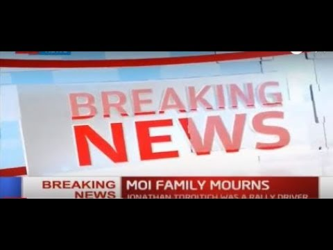BREAKING NEWS: Retired President Moi's Eldest Son Dies