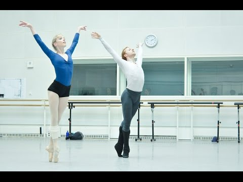 Watch: Rehearsals for George Balanchine's ballet <em>Jewels</em>