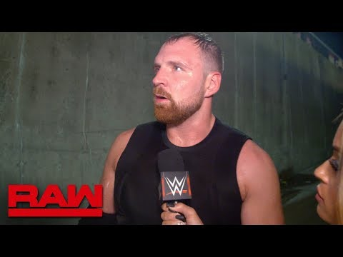 Dean Ambrose gets brutally honest about his place in The Shield: Raw Exclusive, Oct. 8, 2018