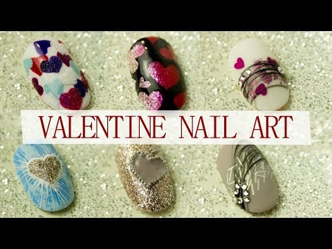 Nageldesign - New Valentine's Day Nail Art Compilation  Nails Ideas For Beginner 2019