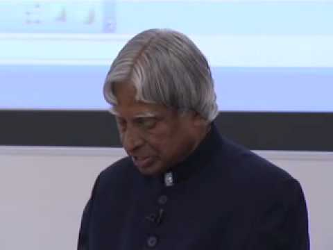 Dr A.P.J. Abdul Kalam   Creative Leadership in the Global Knowledge Economy