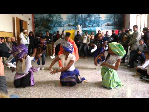 Youth traditional igbo dance.