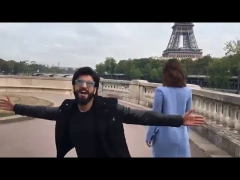 Video Ranveer Singh Recreates Shahrukh Khan's 'Ruk Ja O Dil Deewane' In Paris download in MP3, 3GP, MP4, WEBM, AVI, FLV January 2017