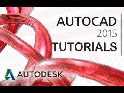 AutoCAD 2015 - Tutorial For Beginners [COMPLETE In 15 Mins!]
