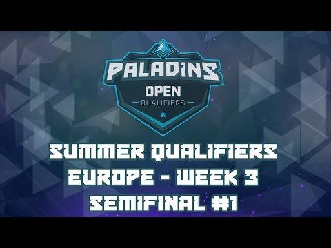 Paladins Summer Qualifiers 2017 Week 3 EU: Semifinals (District 69 vs. Flashpoint)