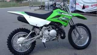 10. 2013 Kawasaki KLX 110 in Lime Green at Tommy's MotorSports