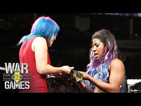 Video Asuka crowns Ember Moon the new NXT Women's Champion: NXT TakeOver: WarGames download in MP3, 3GP, MP4, WEBM, AVI, FLV January 2017