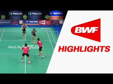 Danisa Denmark Open 2017 | Badminton F – Highlights (видео)