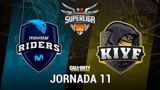 MOVISTAR RIDERS VS KIYF - #SuperligaOrangeCOD11 - Jornada 11 - T12