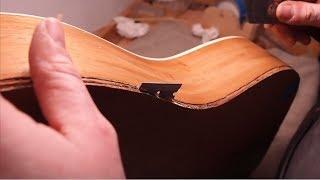 Video Guitar Repair - You Won't Believe What I Found Inside... MP3, 3GP, MP4, WEBM, AVI, FLV Juni 2019