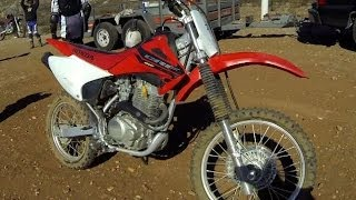 1. Honda CRF150F Motorcycle Review