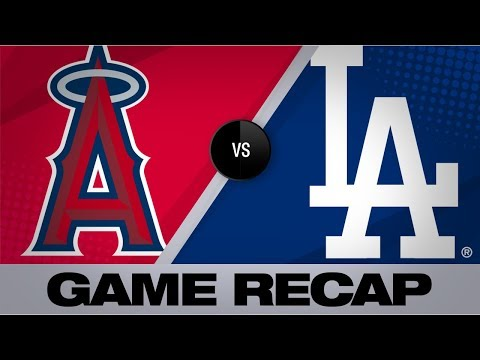Video: Calhoun's big game lifts Angels past Dodgers | Angels-Dodgers Game Highlights 7/23/19