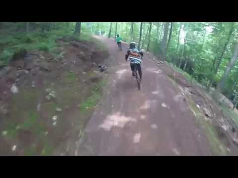 Windham Bike Park's Jump Trail:  Wilderness Roll