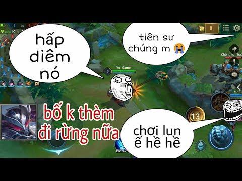 Troll Game - Hai Thanh Niên Troll Rừng Team Bạn Phát Khóc Bỏ Rừng Và Cái Kết - Yo Game Troll Rừng - Thời lượng: 11 phút.
