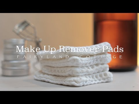 DIY Zero Waste Make Up Remover Pads - Upcycle Project