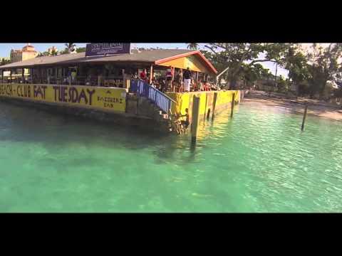 Fat Tuesday Daiquiri Bar Nassau Bahamas