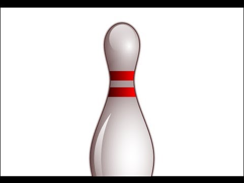inkscape - http://www.LittleWebHut.com This Inkscape tutorial demonstrates how to make a bowling pin. A bowling pin is a complex shape and this video shows a technique ...