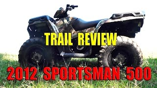4. 2012 SPORTSMAN 500 TEST REVIEW - Can it keep up with the 800 Sportsman?