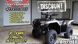 5. 2016 Honda Rancher 420 Camo DCT IRS ATV Specs - SALE Chattanooga TN / GA / AL (TRX420FA5G)