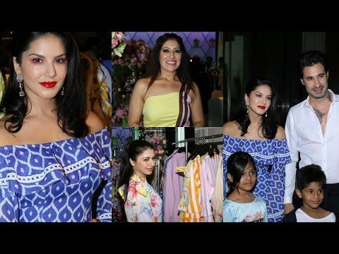 Sunny Leone At Designer Maheka Mirpuri's Summer Coll