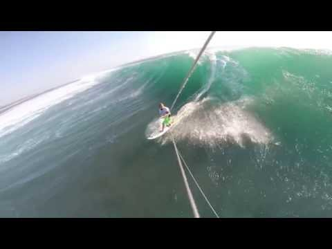 Rob gets Tubed with his kite, then watch what happens ;)