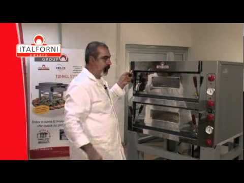 Italforni TK Line Pizza Oven Video