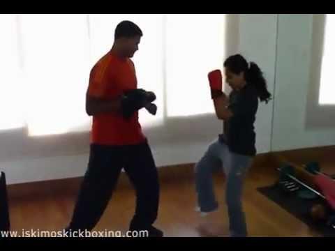 Nitya Menon - Kickboxing Training at hydrabad