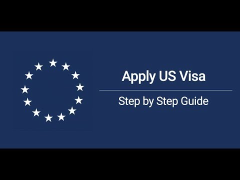 The real method of applying to Visa of United States of America- Android apss