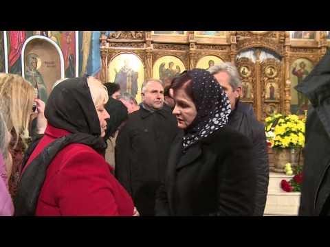 President attends wake of Moldovan jounalist