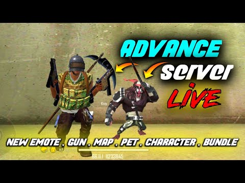 ADVANCED SERVER ALL NEW UPDATES LIVE GAME PLAY - FREE FIRE LIVE WITH TONDE GAMER