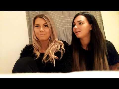 Videoblogg av meg og Rebecca