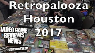 Here are some new games I picked up at Retropalooza Houston, and a recap of the event.Music in this video is by Benjamin Allen at CollectorVIsion Games. http://collectorvision.com/