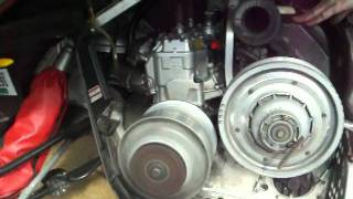 6. 2005 Ski doo Snowmobile cold start on 4 17 11 after lowspeed jet swap