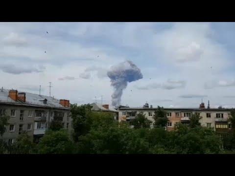 Δεκάδες τραυματίες από έκρηξη σε εργαστάσιο εκρηκτικών στη Ρωσία…