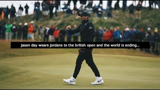 https://www.patreon.com/ezyville Jason Day's first round of the British Open wasn't talked about because of his play, but rather...