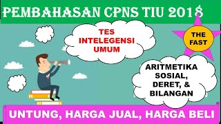 Download Video Pembahasan Latihan Soal CPNS 2018 TIU - ARITMETIKA SOSIAL, BILANGAN, & DERET MP3 3GP MP4