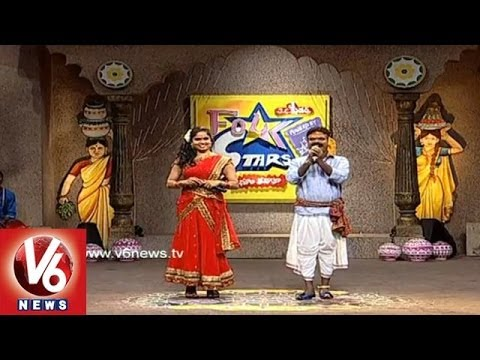 Telangana Special Folk Songs || Folk Star Dhoom Thadaka - 03 || V6 News
