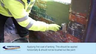 Tanking - How To Use Tanking Slurry