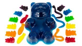 How to Make a Giant Gummy Bear and other Gummy Candy from Cookies Cupcakes and Cardio
