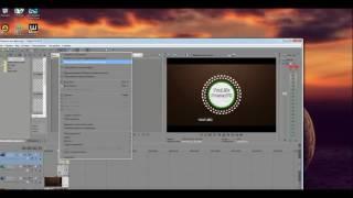 Как изменить текст из готового интро в программе Sony Vegas Pro 12 - Video website