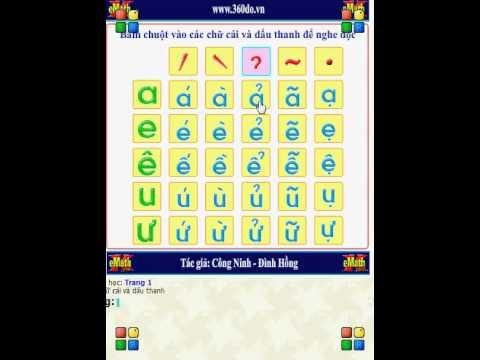 Bảng chữ cái tiếng Việt (Vietnamese Alphabet)
