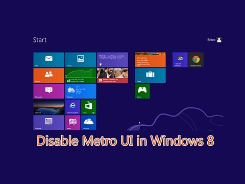 Skip Metro Suite  – Disable Metro UI in Windows 8
