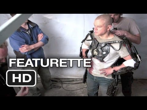 Elysium Featurette - The Tech Of Elysium (2013) - Matt Damon Sci-Fi Movie HD
