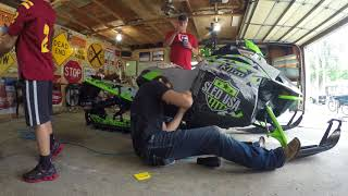 10. Wrapping a 2018 Arctic Cat M8000 153