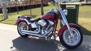 7. Used 2010 Harley Davidson FLSTFSE CVO Fat Boy